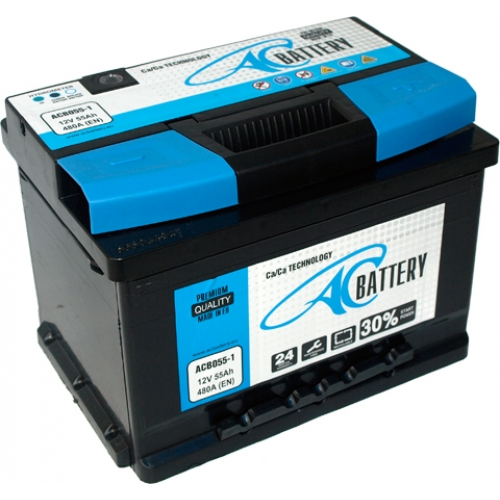 ac battery dc battery charger Акумулатор ac battery 55Аh 480a r