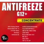 BIZOL Coolant G12+ (ЧЕРВЕН Антифриз)  -80°С 1L